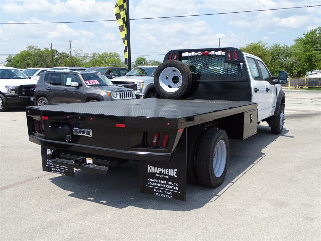 2017 F-550 Crew Cab DRW 4x4, Flatbed #TED32722 - photo 2