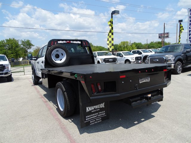 2017 F-550 Crew Cab DRW 4x4, Flatbed #TED32722 - photo 6