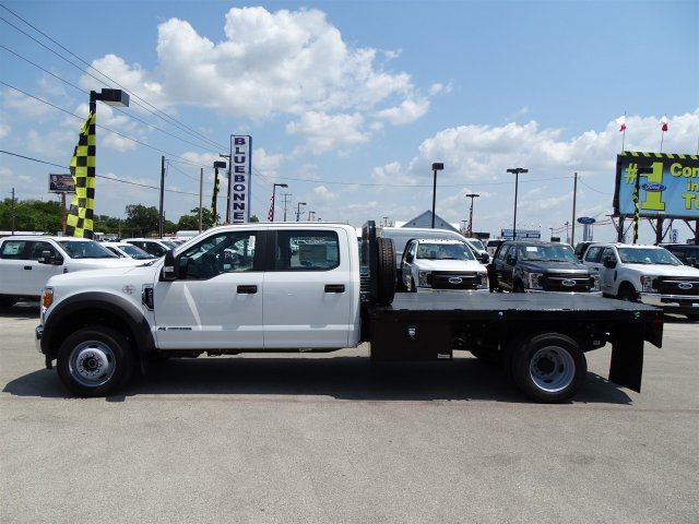 2017 F-550 Crew Cab DRW 4x4, Flatbed #TED32722 - photo 7