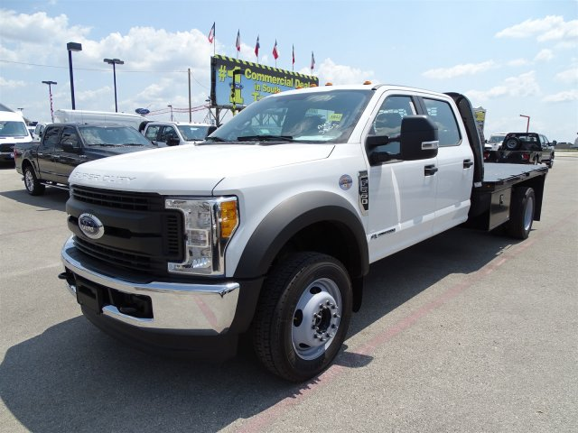 2017 F-550 Crew Cab DRW 4x4, Flatbed #TED32722 - photo 8