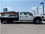 2017 F-550 Crew Cab DRW 4x4, Flatbed #TED32722 - photo 4