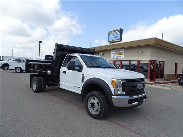2017 F-550 Regular Cab DRW, Rugby Dump Body #TED32725 - photo 3