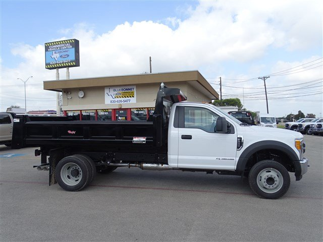 2017 F-550 Regular Cab DRW, Rugby Dump Body #TED32725 - photo 4