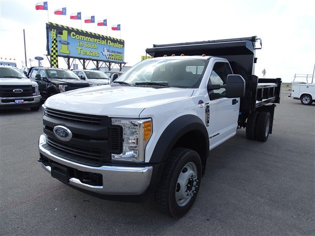 2017 F-550 Regular Cab DRW, Rugby Dump Body #TED32725 - photo 8