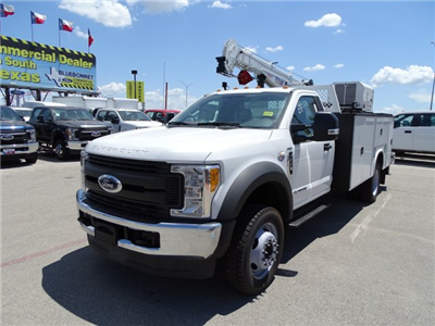 2017 F-550 Regular Cab DRW 4x4 Service Body #TED32774 - photo 10