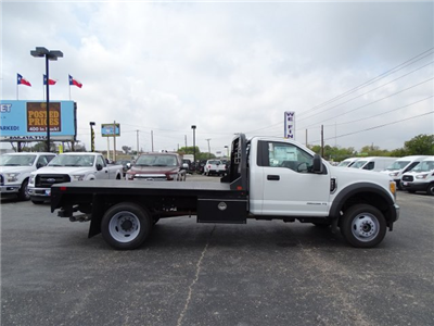 2017 F-450 Regular Cab DRW 4x4 Flatbed #TED32800 - photo 4