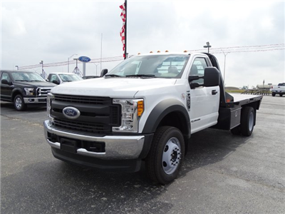 2017 F-450 Regular Cab DRW 4x4 Flatbed #TED32800 - photo 8
