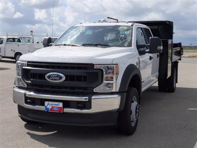 2020 Ford F-550 Crew Cab DRW 4x2, Knapheide Drop Side Dump Body #TED42747 - photo 9