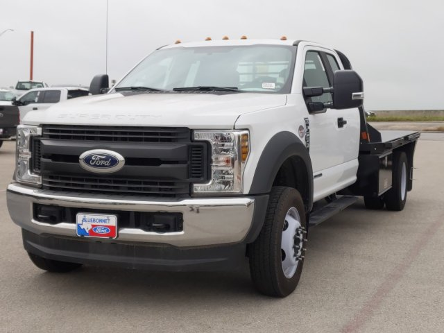 2019 Ford F-550 Super Cab DRW 4x4, CM Truck Beds RD Model Flatbed #TED67916 - photo 8