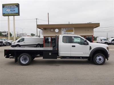 2019 Ford F-550 Super Cab DRW 4x4, CM Truck Beds RD Model Flatbed #TED67916 - photo 4