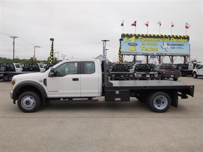 2019 Ford F-550 Super Cab DRW 4x4, CM Truck Beds RD Model Flatbed #TED67916 - photo 6