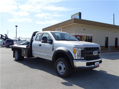 2017 F-550 Super Cab DRW, Flatbed #TEE25638 - photo 11