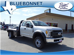 2017 F-550 Super Cab DRW, Flatbed #TEE25638 - photo 1