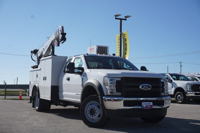 2019 Ford F-550 Super Cab DRW 4x4, Reading Mechanics Body #TEE29365 - photo 1