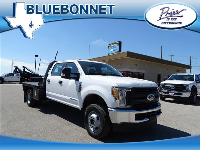 2017 F-350 Crew Cab DRW 4x4, CM Truck Beds RD Model Flatbed #TEE35952 - photo 1