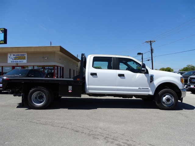2017 F-350 Crew Cab DRW 4x4, CM Truck Beds RD Model Flatbed #TEE35952 - photo 4