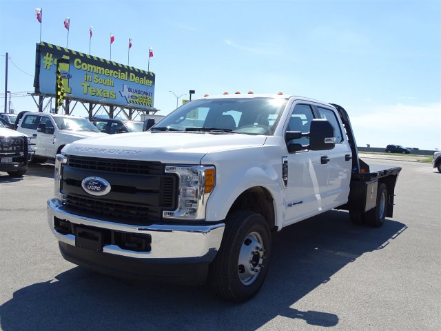 2017 F-350 Crew Cab DRW 4x4, CM Truck Beds RD Model Flatbed #TEE35952 - photo 8