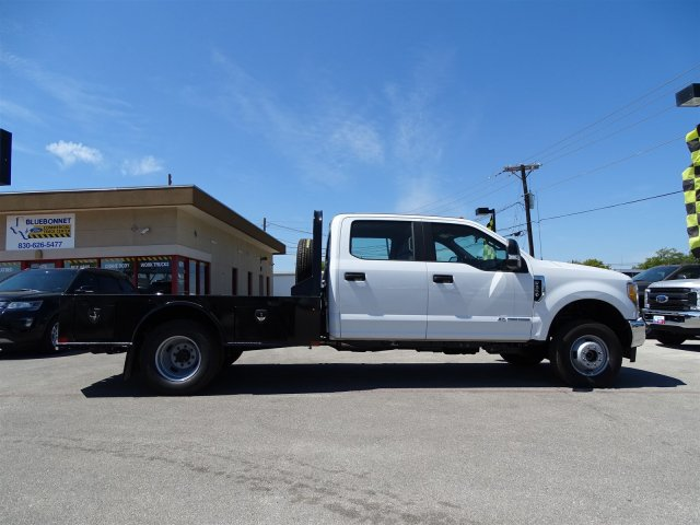 2017 F-350 Crew Cab DRW 4x4, CM Truck Beds SK Model Flatbed #TEE35955 - photo 4