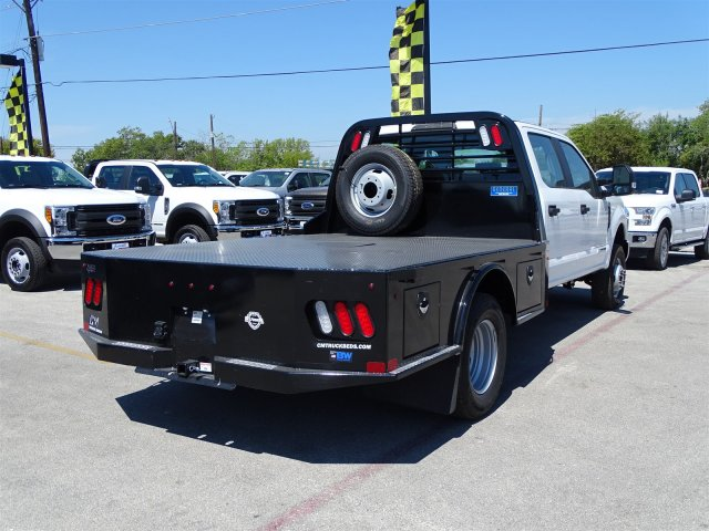 2017 F-350 Crew Cab DRW 4x4, CM Truck Beds SK Model Flatbed #TEE35955 - photo 2