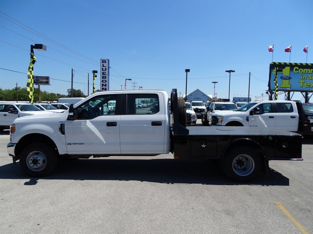 2017 F-350 Crew Cab DRW 4x4, CM Truck Beds SK Model Flatbed #TEE35955 - photo 7