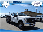 2017 F-350 Crew Cab DRW 4x4, CM Truck Beds SK Model Flatbed #TEE35955 - photo 1