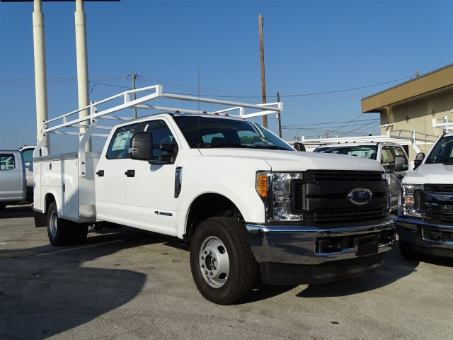 2017 F-350 Crew Cab DRW 4x4, Royal Service Body #TEE36076 - photo 3