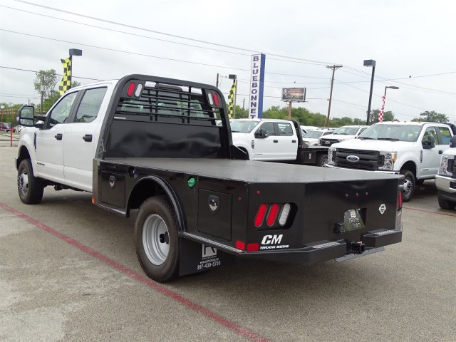 2017 F-350 Crew Cab DRW 4x4, CM Truck Beds SK Model Flatbed #TEE36078 - photo 6