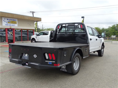 2017 F-350 Crew Cab DRW 4x4, CM Truck Beds SK Model Flatbed #TEE36078 - photo 2