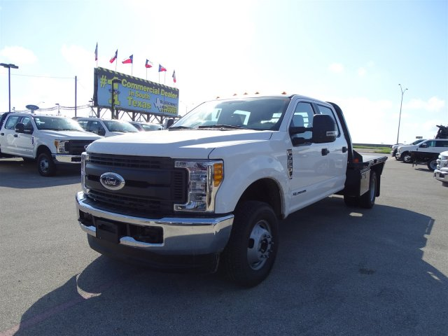 2017 F-350 Crew Cab DRW 4x4, CM Truck Beds RD Model Flatbed #TEE36082 - photo 8