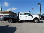 2017 F-350 Crew Cab DRW 4x4, CM Truck Beds RD Model Flatbed #TEE36082 - photo 4