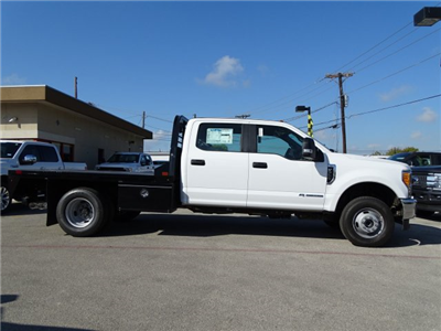 2017 F-350 Crew Cab DRW 4x4, CM Truck Beds RD Model Flatbed #TEE36084 - photo 4