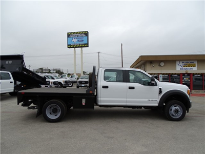 2017 F-550 Crew Cab DRW 4x4, CM Truck Beds RD Model Flatbed #TEE51341 - photo 4