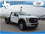 2017 F-550 Crew Cab DRW 4x4, CM Truck Beds RD Model Flatbed #TEE51341 - photo 1