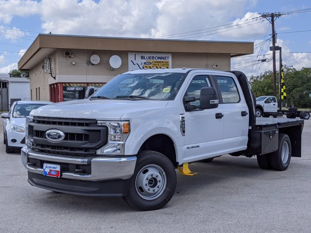 2020 Ford F-350 Crew Cab DRW 4x4, Knapheide Platform Body #TEE52843 - photo 1