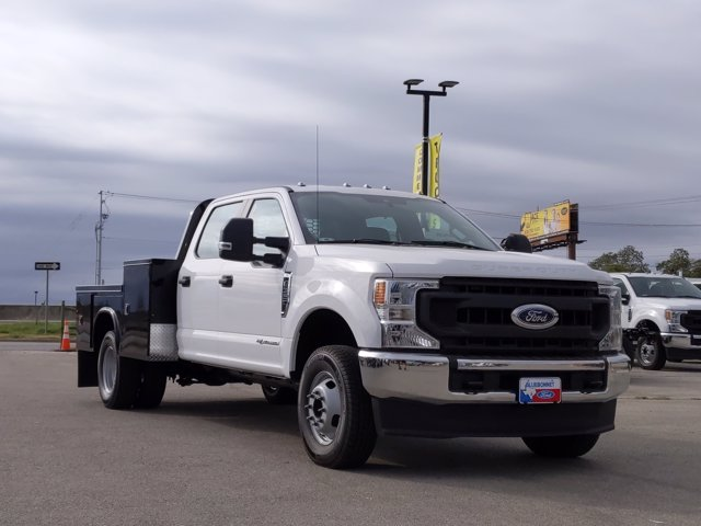 2020 Ford F-350 Crew Cab DRW 4x4, Knapheide Platform Body #TEE52845 - photo 1