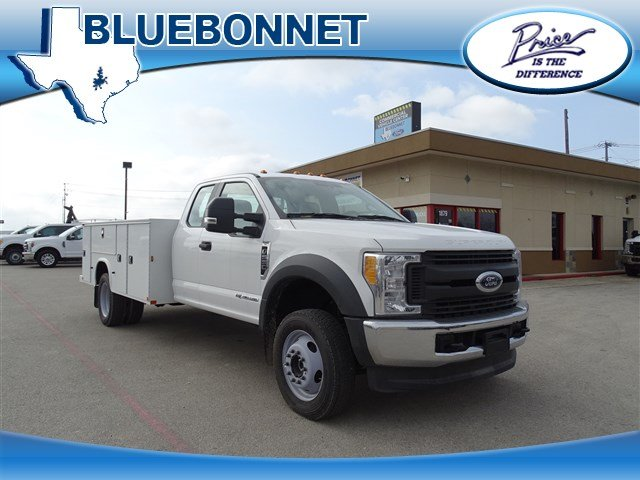 2017 F-550 Super Cab DRW 4x4, Service Body #TEE59158 - photo 1