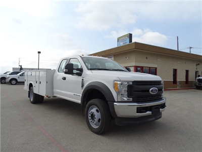 2017 F-550 Super Cab DRW 4x4, Service Body #TEE59158 - photo 3