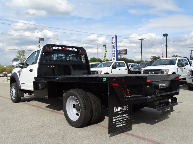 2017 F-550 Regular Cab DRW Flatbed #TEE73256 - photo 5
