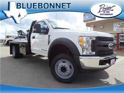 2017 F-550 Regular Cab DRW Flatbed #TEE73256 - photo 1
