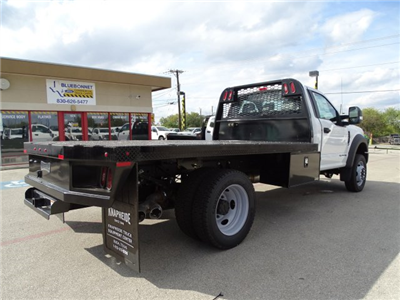 2017 F-550 Regular Cab DRW Flatbed #TEE73256 - photo 2