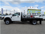 2017 F-550 Regular Cab DRW Flatbed #TEE73256 - photo 6
