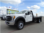 2017 F-550 Regular Cab DRW Flatbed #TEE73256 - photo 7