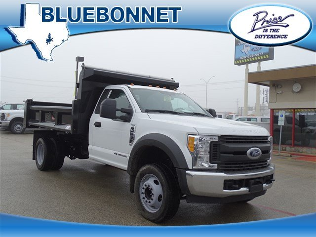 2017 F-550 Regular Cab DRW, Dump Body #TEE87531 - photo 1