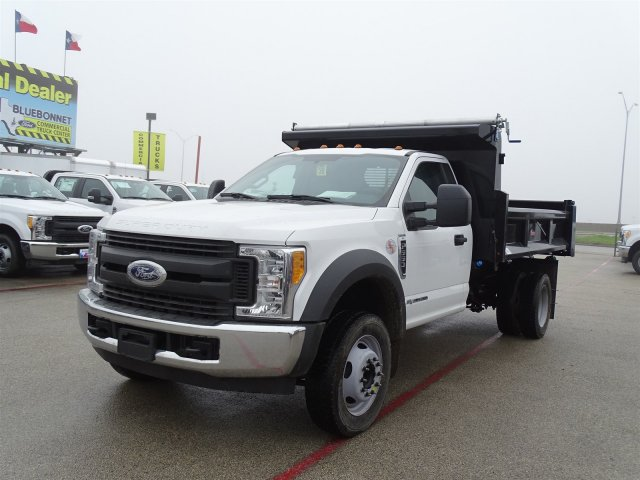 2017 F-550 Regular Cab DRW, Dump Body #TEE87531 - photo 8