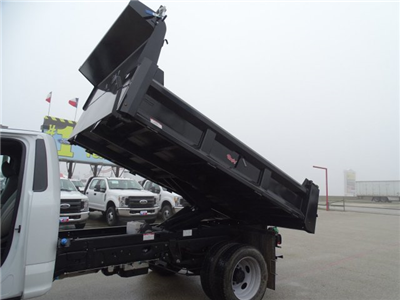 2017 F-550 Regular Cab DRW, Dump Body #TEE87531 - photo 11
