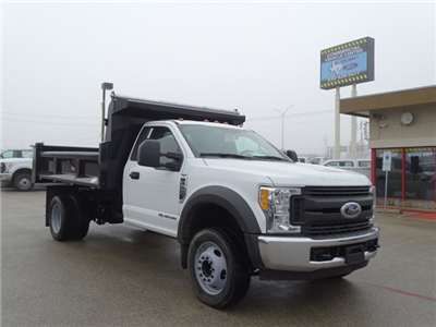 2017 F-550 Regular Cab DRW, Dump Body #TEE87531 - photo 3