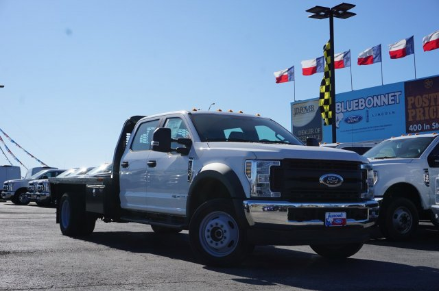 2019 Ford F-550 Crew Cab DRW 4x4, CM Truck Beds Flatbed #TEF21556 - photo 1