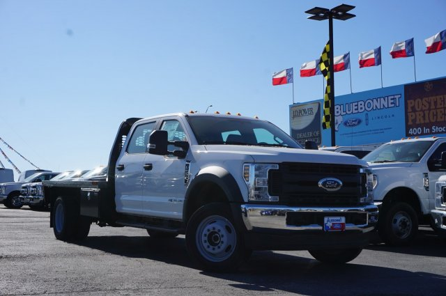 2019 Ford F-550 Crew Cab DRW 4x4, CM Truck Beds RD Model Flatbed #TEF21556 - photo 5