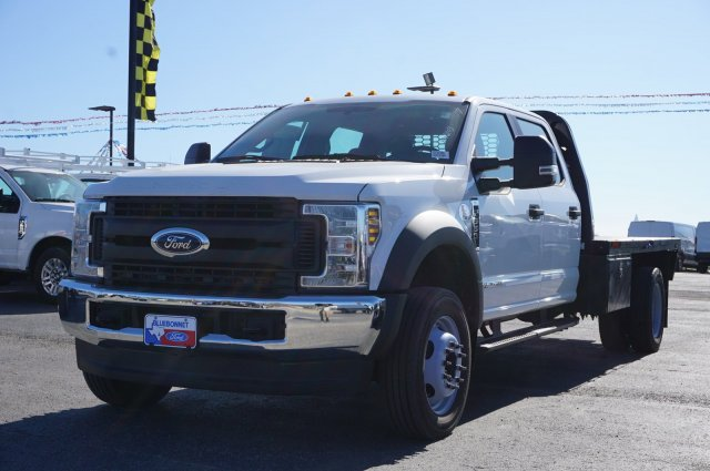 2019 Ford F-550 Crew Cab DRW 4x4, CM Truck Beds RD Model Flatbed #TEF21556 - photo 7