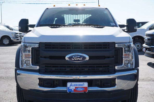 2019 Ford F-550 Crew Cab DRW 4x4, CM Truck Beds RD Model Flatbed #TEF21556 - photo 8